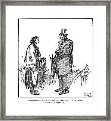 Charles Evans Hughes  Framed Print by Granger