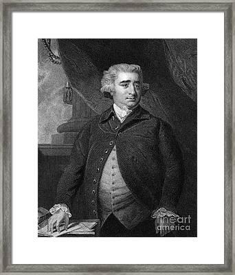Charles Fox (1749-1806) Framed Print