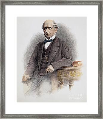 Charles Francis Adams Framed Print by Granger