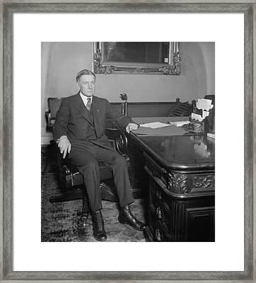 Charles Gates Dawes 1865-1951, Calvin Framed Print by Everett