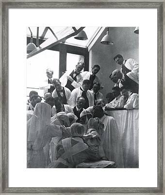 Charles H. Mayo 1865-1939, At Center Framed Print by Everett