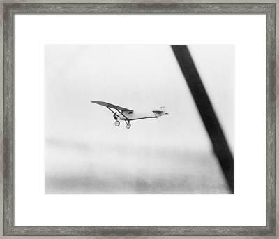 Charles Lindberghs Airplane, The Spirit Framed Print by Everett