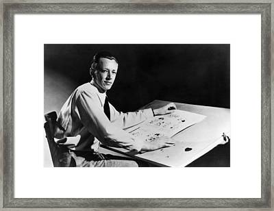 Charles M. Schulz, 1922-2000, American Framed Print by Everett