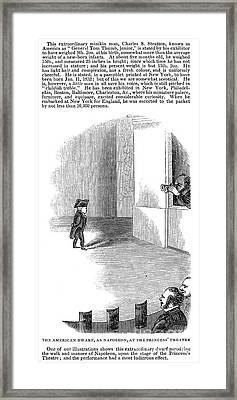 Charles Stratton Framed Print by Granger