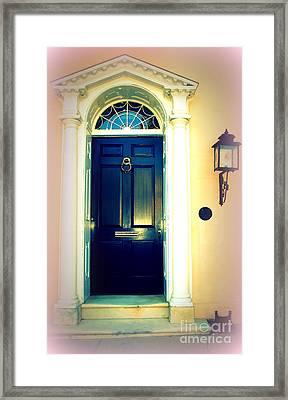 Charleston Door 1 Framed Print by Susanne Van Hulst
