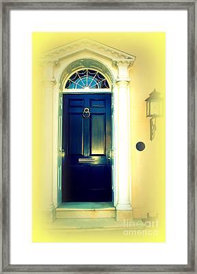 Charleston Door 4 Framed Print by Susanne Van Hulst