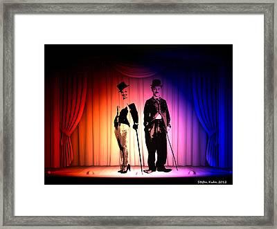 Charlie And Marilyn Framed Print by Steve K