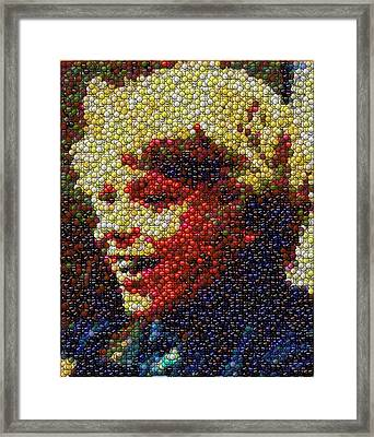Charlie Buckets Fizzy Lifting Drinks  Bottle Cap Mosaic Framed Print by Paul Van Scott