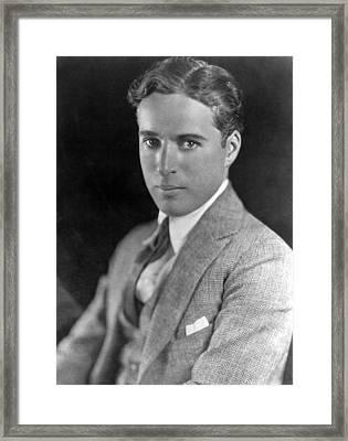 Charlie Chaplin, Ca. 1910s Framed Print