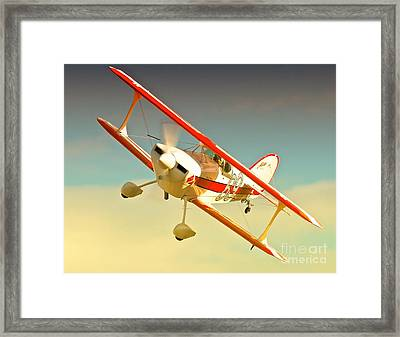 Charlie Greer And Pitts Special Race 69 Aint Missbehavin Framed Print