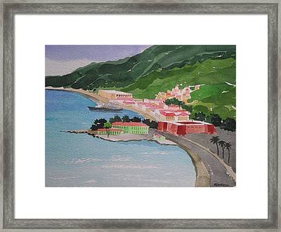 Charlotte Amalie Framed Print by Robert Rohrich