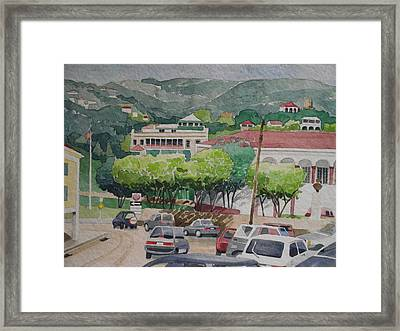 Charlotte Amalie Tolbad Gade Framed Print by Robert Rohrich