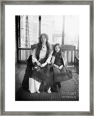 Charlotte Collyer Framed Print by Granger