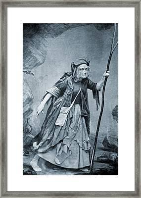 Charlotte Cushman 1816-1876, In Costume Framed Print by Everett