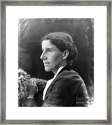 Charlotte Perkins Gilman Framed Print by Granger