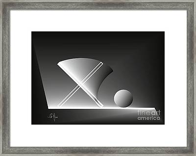 Charm Of Intimacy Framed Print