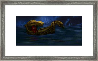 Charon Framed Print by William McDonald
