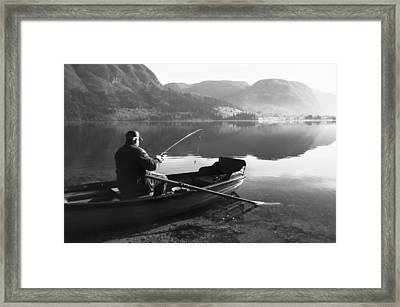 Framed Print featuring the photograph Char....ta by Graham Hawcroft pixsellpix