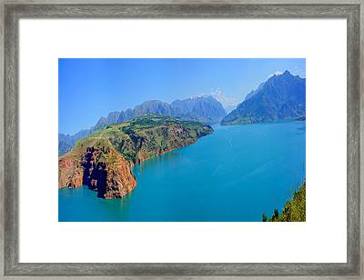 Charvak Framed Print by Egeniy Olevskiy