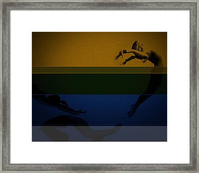 Chase Framed Print by Naxart Studio