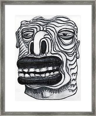 Chasing Basil Framed Print by Robert Wolverton Jr