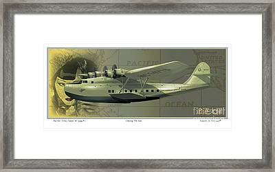 Chasing The Sun  Number One Framed Print by Kenneth De Tore