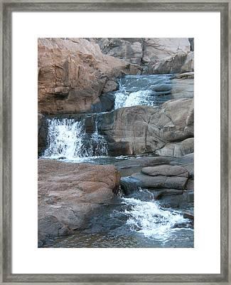 Chasing Waterfalls Framed Print by Jessica Jandayan