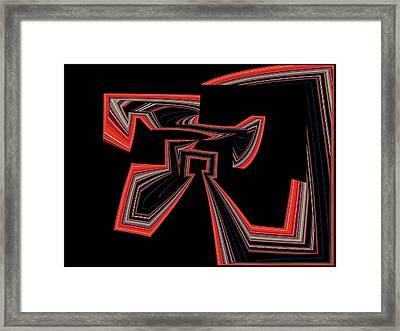 Chassidy No.4 Framed Print by Danny Lally