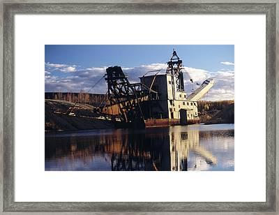 Chatanika Gold Dredge, Alaska Framed Print by Alan Sirulnikoff