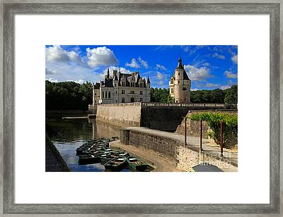 Chateau Chenonceau Loire Valley Framed Print