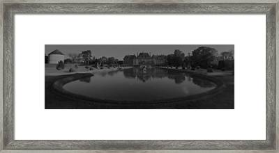 Chateau De Breteuil Dh 1 Framed Print
