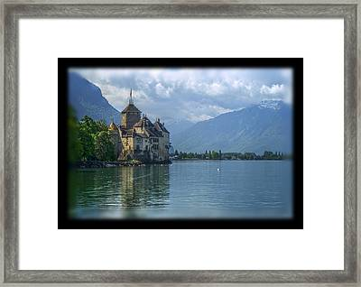 Chateau De Chillon Framed Print by Matthew Green