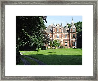 Framed Print featuring the photograph Chateau De Miremont Belgium by Joseph Hendrix