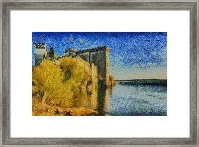 Chateau De Tarascon Framed Print by Aaron Stokes