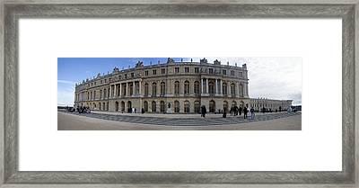 Chateau De Versailles Framed Print by Cecil Fuselier