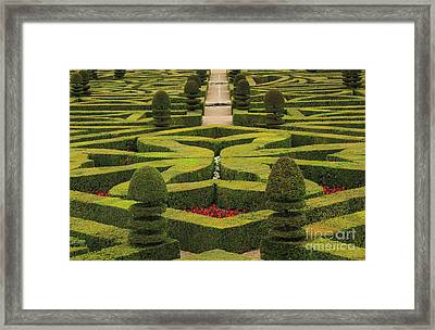 Chateau De Villandry Framed Print by Louise Heusinkveld