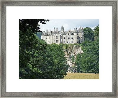 Framed Print featuring the photograph Chateau De Walzin by Joseph Hendrix