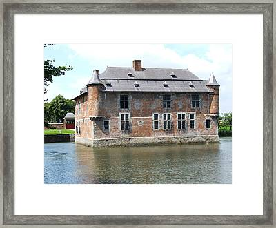 Framed Print featuring the photograph Chateau Feodal De Fernelmont Belgium by Joseph Hendrix