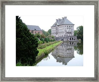 Framed Print featuring the photograph Chateau Fort De Feluy  Belgium by Joseph Hendrix