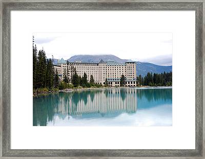 Chateau Lake Louise Framed Print