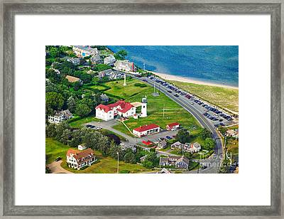 Chatham Lighthouse Cape Cod Massachusetts Framed Print