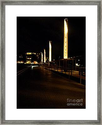 Chattanooga Dock Framed Print by Utopia Concepts
