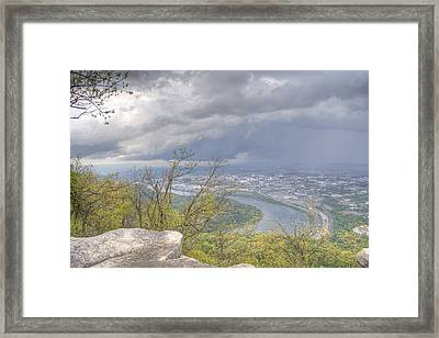 Chattanooga Valley Framed Print by David Troxel