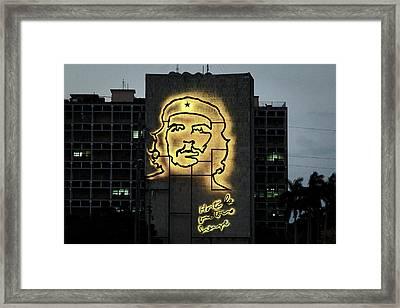 Framed Print featuring the photograph Che Guevera II by Gary Dean Mercer Clark