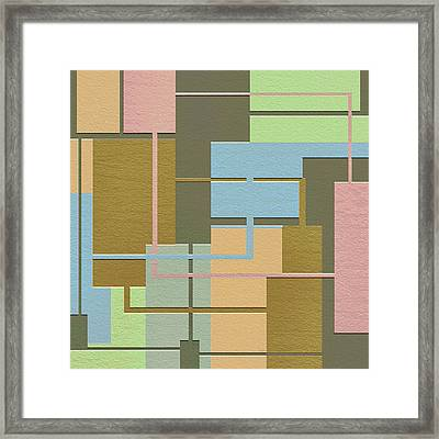 Check Framed Print by Ely Arsha