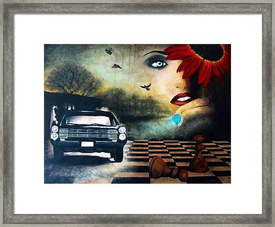 Checkmate Framed Print by Andrea Banjac