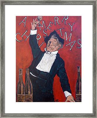 Cheers Framed Print by Tom Roderick