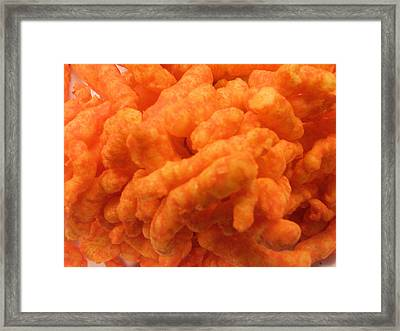 Cheesy Poofs Framed Print