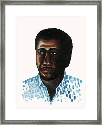 Cheick Oumar Sissoko Framed Print by Emmanuel Baliyanga