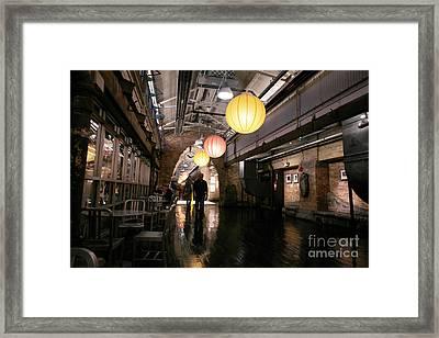 Chelsea Market Framed Print by David Bearden